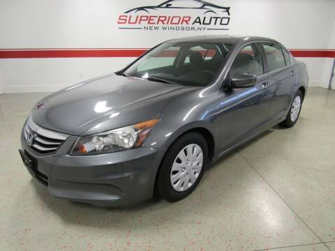 2012 Honda Accord for sale at Superior Auto Sales in New Windsor NY