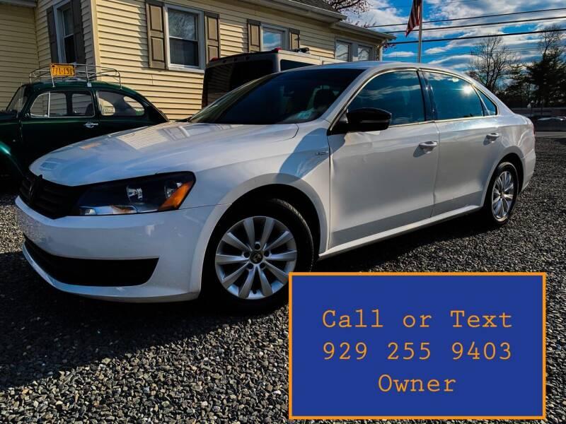 2014 Volkswagen Passat for sale at Ultimate Motors in Port Monmouth NJ