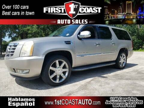 2007 Cadillac Escalade ESV for sale at 1st Coast Auto -Cassat Avenue in Jacksonville FL