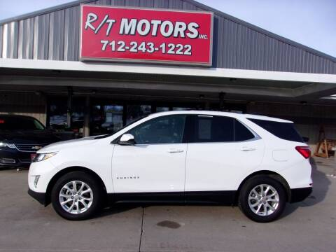 2018 Chevrolet Equinox for sale at RT Motors Inc in Atlantic IA