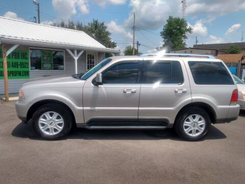2004 Lincoln Aviator for sale at Auto Pro Inc in Fort Wayne IN