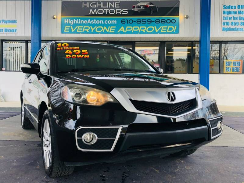 2010 Acura RDX for sale at Highline Motors in Aston PA