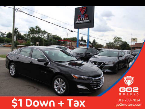 2019 Chevrolet Malibu for sale at Go2Motors in Redford MI
