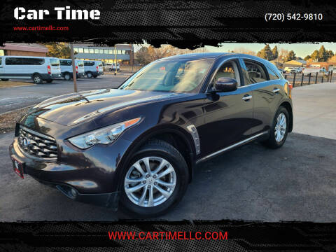 2011 Infiniti FX35 for sale at Car Time in Denver CO