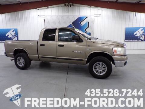 2006 Dodge Ram Pickup 1500 for sale at Freedom Ford Inc in Gunnison UT