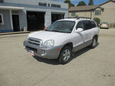 2006 Hyundai Santa Fe for sale at Cars R Us Sales & Service llc in Fond Du Lac WI