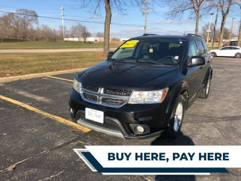 2013 Dodge Journey for sale at Stryker Auto Sales in South Elgin IL