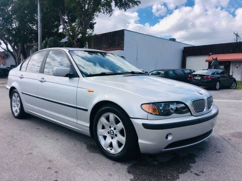 2004 BMW 3 Series for sale at Florida Cool Cars in Fort Lauderdale FL