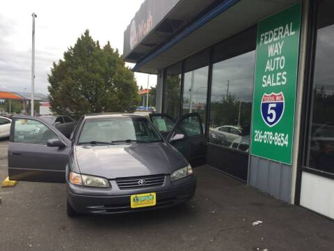 1999 Toyota Camry for sale at Federal Way Auto Sales in Federal Way WA