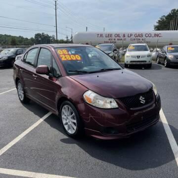 2008 Suzuki SX4 for sale at Auto Bella Inc. in Clayton NC