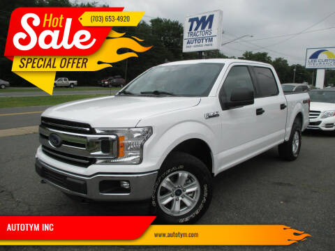 2020 Ford F-150 for sale at AUTOTYM INC in Fredericksburg VA