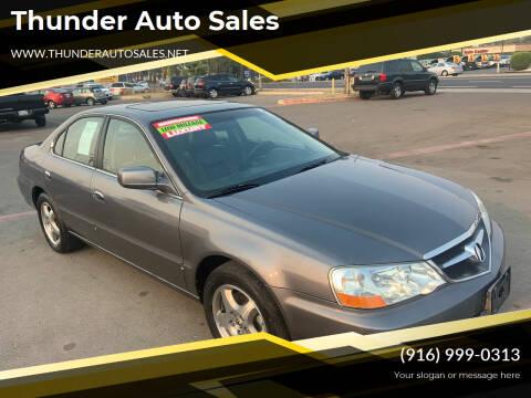 2002 Acura TL for sale at Thunder Auto Sales in Sacramento CA