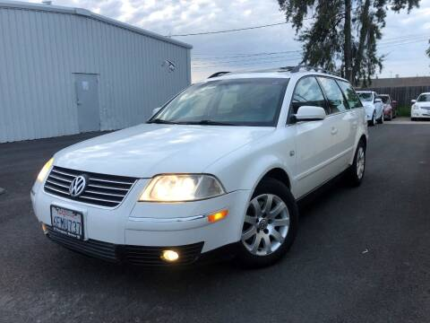2001 Volkswagen Passat for sale at Sams Auto Sales in North Highlands CA