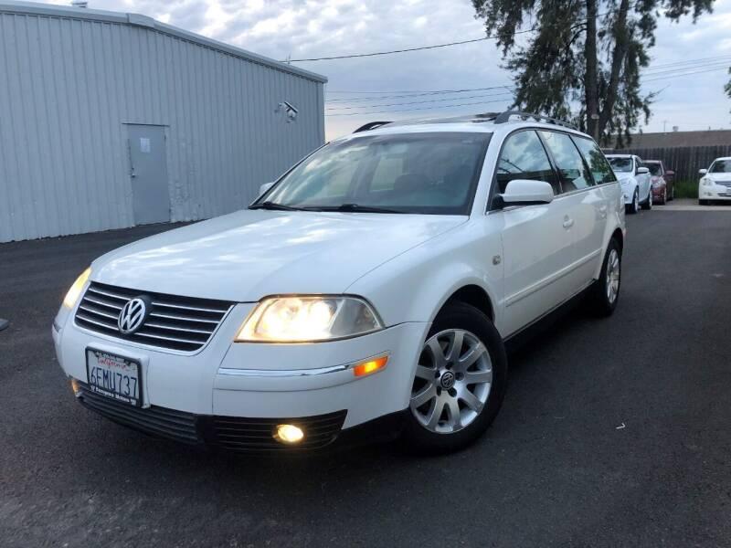2001 Volkswagen Passat for sale at Sams Auto Sales in North Highlands CA