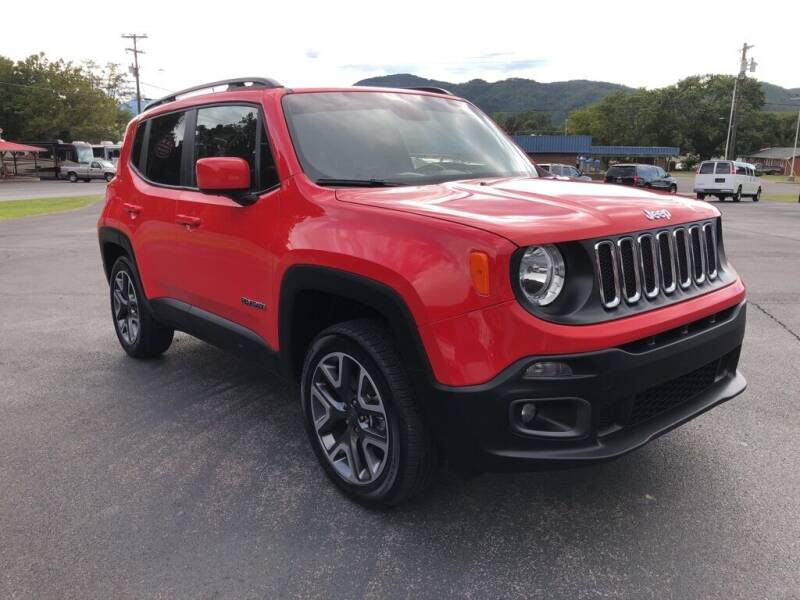 2017 Jeep Renegade for sale at KNK AUTOMOTIVE in Erwin TN