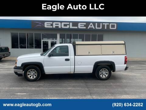 2006 Chevrolet Silverado 1500 for sale at Eagle Auto LLC in Green Bay WI