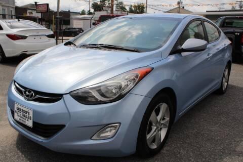 2013 Hyundai Elantra for sale at Grasso's Auto Sales in Providence RI