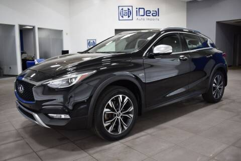 2017 Infiniti QX30 for sale at iDeal Auto Imports in Eden Prairie MN