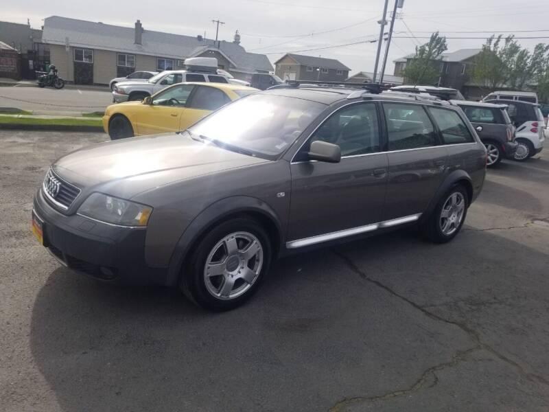 2003 Audi Allroad for sale at Cool Cars LLC in Spokane WA