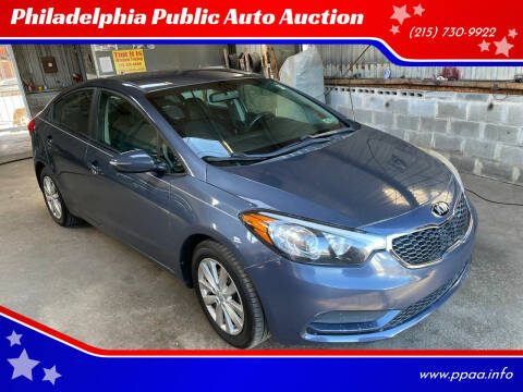 2014 Kia Forte for sale at Philadelphia Public Auto Auction in Philadelphia PA