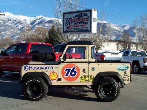 1978 Land Rover Series 3 for sale at Haacke Motors in Layton UT