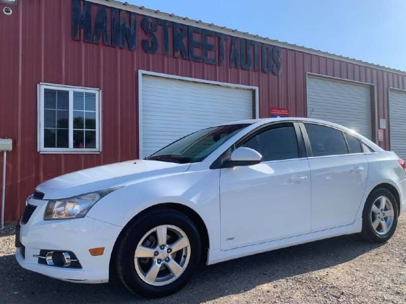 2011 Chevrolet Cruze for sale at Main Street Autos Sales and Service LLC in Whitehouse TX