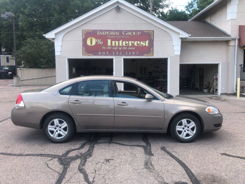 2007 Chevrolet Impala for sale at Imperial Group in Sioux Falls SD