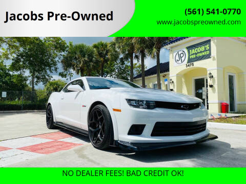 2015 Chevrolet Camaro for sale at Jacobs Pre-Owned in Lake Worth FL