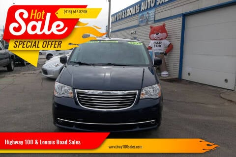 2015 Chrysler Town and Country for sale at Highway 100 & Loomis Road Sales in Franklin WI