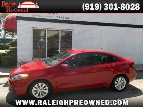2014 Dodge Dart for sale at Raleigh Pre-Owned in Raleigh NC