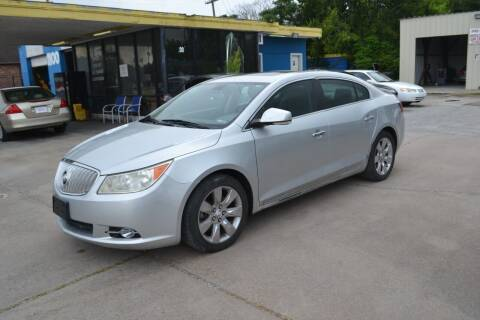2010 Buick LaCrosse for sale at Preferable Auto LLC in Houston TX