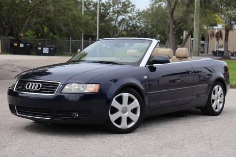 2004 Audi A4 for sale at Carpros Auto Sales in Largo FL