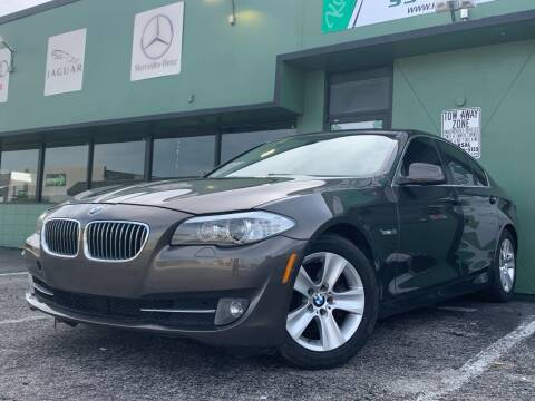 2013 BMW 5 Series for sale at KARZILLA MOTORS in Oakland Park FL