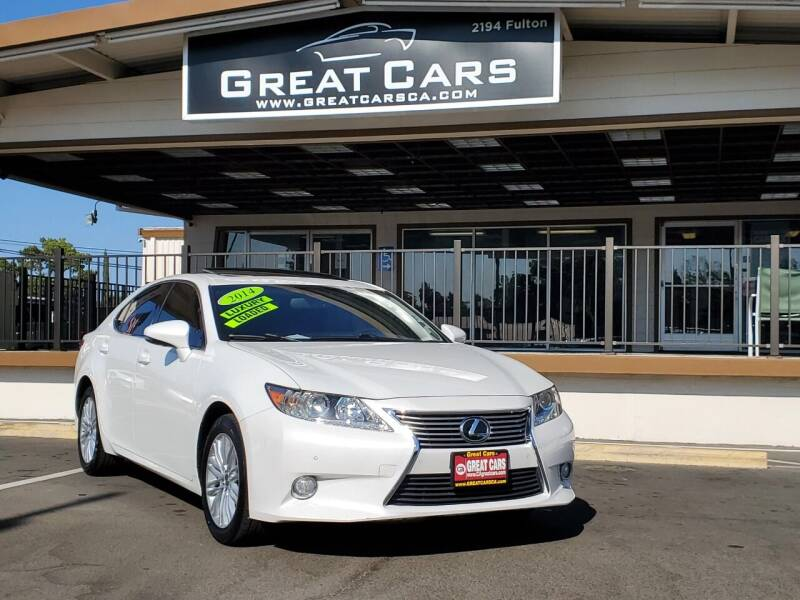 2014 Lexus ES 350 for sale at Great Cars in Sacramento CA