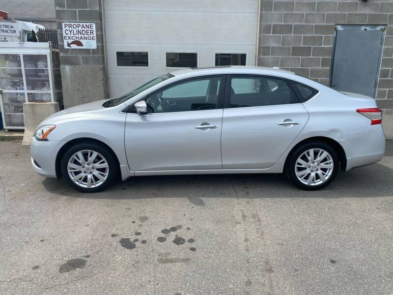 2013 Nissan Sentra for sale at Pafumi Auto Sales in Indian Orchard MA