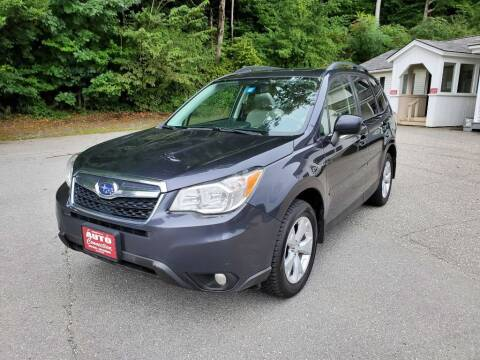 2016 Subaru Forester for sale at AUTO CONNECTION LLC in Springfield VT