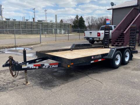 2013 FELLING 16' BOBCAT TRAILER for sale at Affordable Auto Sales in Cambridge MN