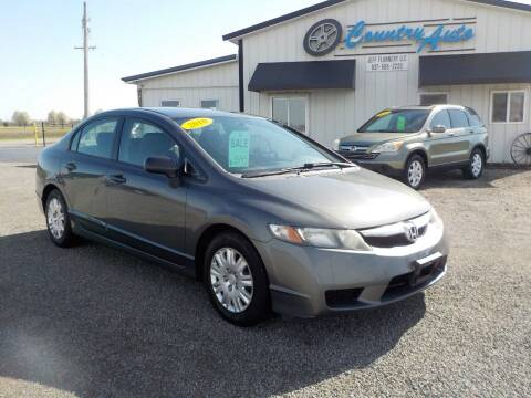 2010 Honda Civic for sale at Country Auto in Huntsville OH