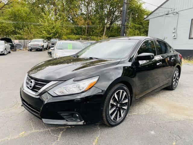 2018 Nissan Altima for sale at M&M's Auto Sales & Detail in Kansas City KS