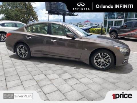 2017 Infiniti Q50 for sale at Orlando Infiniti in Orlando FL