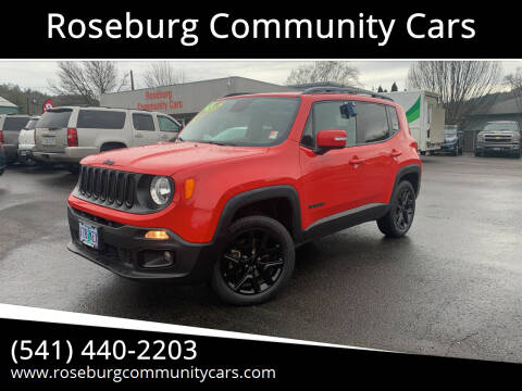 2017 Jeep Renegade for sale at Roseburg Community Cars in Roseburg OR