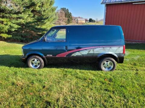 1986 Chevrolet Astro for sale at Classic Car Deals in Cadillac MI