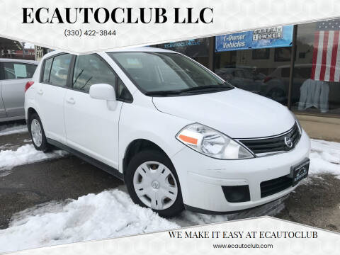 2010 Nissan Versa for sale at ECAUTOCLUB LLC in Kent OH