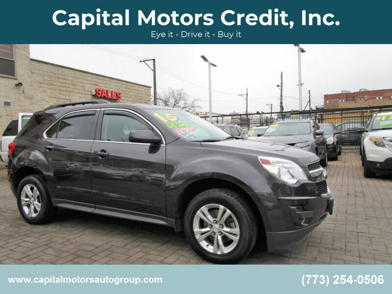 2015 Chevrolet Equinox for sale at Capital Motors Credit, Inc. in Chicago IL
