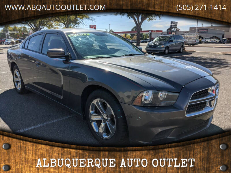 2013 Dodge Charger for sale at ALBUQUERQUE AUTO OUTLET in Albuquerque NM