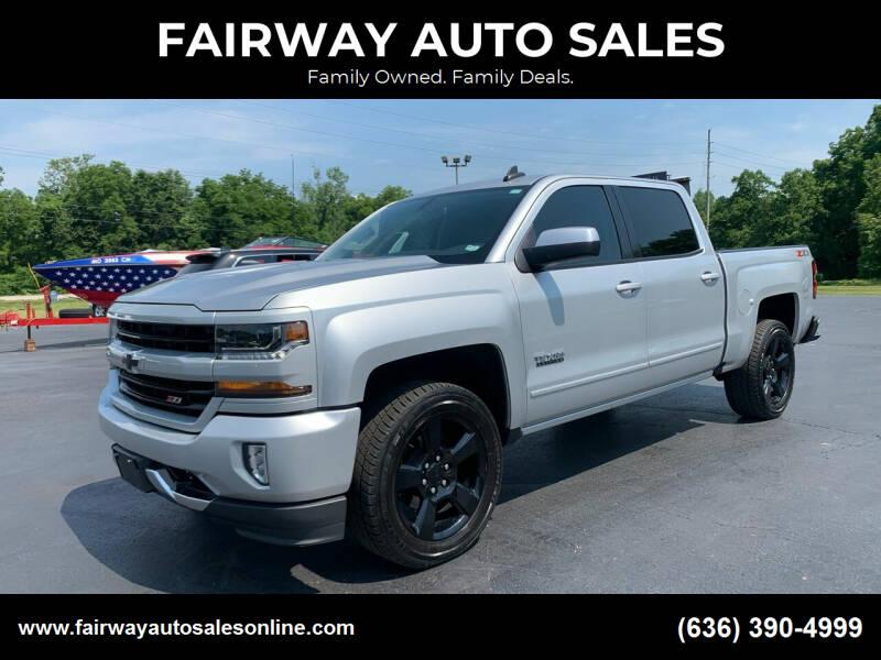 2018 Chevrolet Silverado 1500 for sale at FAIRWAY AUTO SALES in Washington MO
