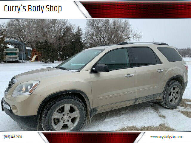 2011 GMC Acadia for sale at Curry's Body Shop in Osborne KS