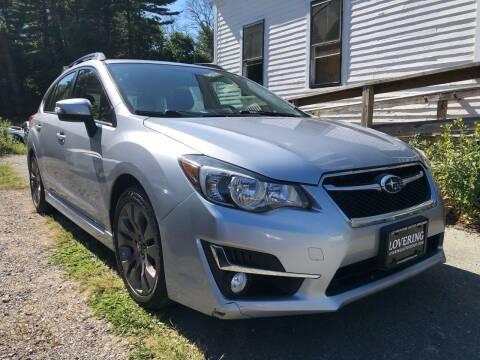 2015 Subaru Impreza for sale at Specialty Auto Inc in Hanson MA