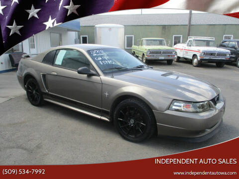 2002 Ford Mustang for sale at Independent Auto Sales in Spokane Valley WA