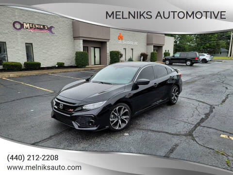 2019 Honda Civic for sale at Melniks Automotive in Berea OH